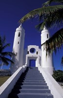 St Peter Catholic Church, Long Island, Bahamas, Caribbean Fine Art Print