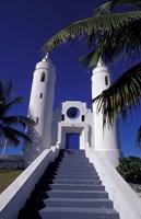 St Peter Catholic Church, Long Island, Bahamas, Caribbean by Greg Johnston - various sizes