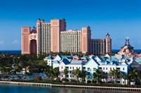 Atlantis Hotel , Bahamas by Walter Bibikow - various sizes, FulcrumGallery.com brand