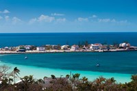 Bahamas, Eleuthera Island, Governors Harbor by Walter Bibikow - various sizes, FulcrumGallery.com brand