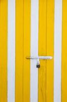 Bahamas, Eleuthera Island, Harbor Island, doorway by Walter Bibikow - various sizes, FulcrumGallery.com brand