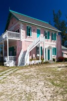 Bahamas, Eleuthera Island, Haynes Library by Walter Bibikow - various sizes, FulcrumGallery.com brand