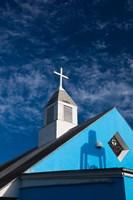 Bahamas, Eleuthera, Harbor Island, Dunmore, Church by Walter Bibikow - various sizes, FulcrumGallery.com brand