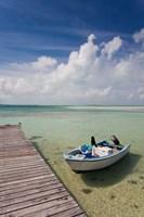 Bahamas, Eleuthera, Harbor Island, Dunmore, harbor by Walter Bibikow - various sizes, FulcrumGallery.com brand