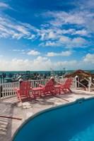 Bahamas, Eleuthera, Harbor Island, Dunmore, Marina by Walter Bibikow - various sizes, FulcrumGallery.com brand