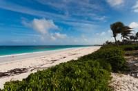 Bahamas, Eleuthera, Harbor Island, Pink Sand Beach by Walter Bibikow - various sizes, FulcrumGallery.com brand