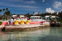 Bahamas, Eleuthera, Romora Bay Yacht Club by Walter Bibikow - various sizes