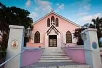 Bahamas, Eleuthera, St Johns Anglican Church by Walter Bibikow - various sizes, FulcrumGallery.com brand