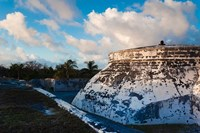 Bahamas, Nassau, Fort Charlotte, Fortification by Walter Bibikow - various sizes, FulcrumGallery.com brand