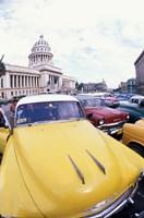 Classic 1950's Auto at Havana Capitol, Havana, Cuba by Bill Bachmann - various sizes