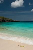Beach, Boca Slagbaai Slagbaai NP, Netherlands Antilles by Pete Oxford - various sizes