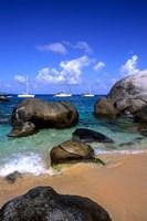 Baths of Virgin Gorda, British Virgin Islands, Caribbean by Bill Bachmann - various sizes