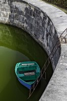 Boat at the fortress of La Fuerza in Havana, Cuba by Adam Jones - various sizes, FulcrumGallery.com brand