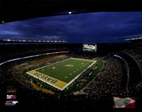 McLane Stadium Baylor University Bears 2014 Fine Art Print
