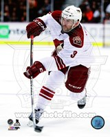 Keith Yandle with the puck 2014-15 Fine Art Print