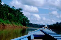 Canoe on the Tambopata River, Peruvian Amazon, Peru by Cindy Miller Hopkins - various sizes