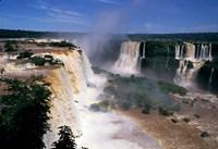 Iguacu Falls, Brazil (horizontal) Framed Print