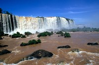 Iguacu Falls, Brazil by Michael DeFreitas - various sizes