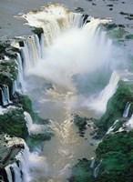 Igwacu Falls Thunders, Brazil Fine Art Print