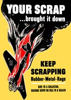 Keep Scrapping by John Parrot - various sizes
