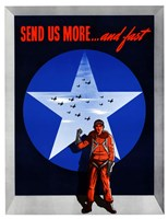 Send Us More and fast by John Parrot - various sizes