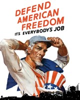 Defend American Freedom by John Parrot - various sizes
