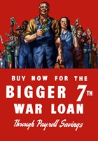 Buy Now for the Bigger 7th War Loan by John Parrot - various sizes, FulcrumGallery.com brand
