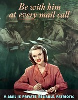 Be with Him at Every Mail Call by John Parrot - various sizes