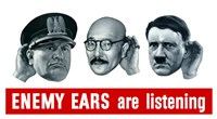 Enemy Ears are Listening by John Parrot - various sizes
