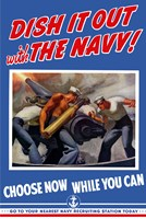 Dish it Out with the Navy! Fine Art Print