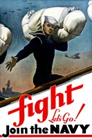 Fight, Let's Go! by John Parrot - various sizes, FulcrumGallery.com brand