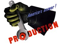 America's Answer!  Production by John Parrot - various sizes - $47.49