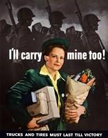 I'll Carry Mine Too Fine Art Print