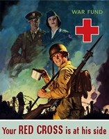 Red Cross War Fund Fine Art Print