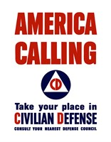 America Calling by John Parrot - various sizes - $47.49