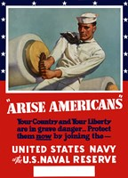 Arise Americans by John Parrot - various sizes, FulcrumGallery.com brand