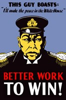 Better Work to Win by John Parrot - various sizes