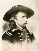General George Armstrong Custer by John Parrot - various sizes
