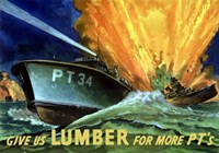 Give Us Lumber by John Parrot - various sizes