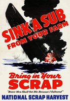 Sink a Sub by John Parrot - various sizes