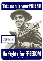 This Man is Your Friend - Englishman by John Parrot - various sizes