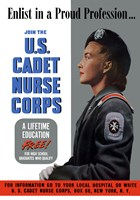 US Cadet Nurse Corps - A Lifetime Education Free Fine Art Print