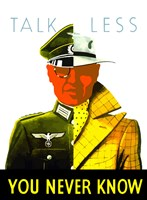 Talk Less by John Parrot - various sizes