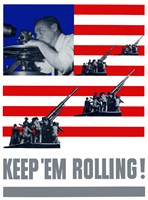 Keep 'Em Rolling! by John Parrot - various sizes