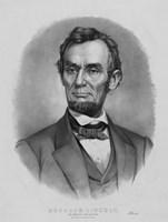 Vintage Abraham Lincoln (black & white) by John Parrot - various sizes