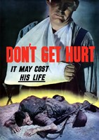 Don't Get Hurt by John Parrot - various sizes
