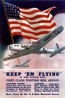 Keep 'Em Flying Is Our Battle Cry by John Parrot - various sizes