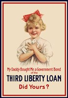 Third Liberty Loan Poster by John Parrot - various sizes