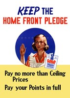 Keep the Home Front Pledge by John Parrot - various sizes