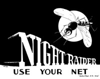 Night Raider, Use Your Net Fine Art Print